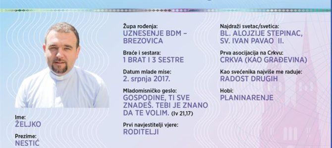 Naši mladomisnici: Željko Nestić