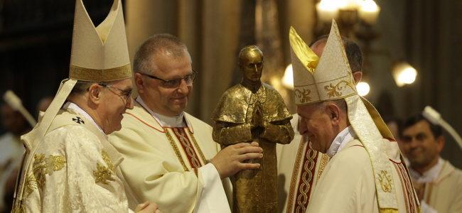 Kardinalova riječ zahvale za biskupsko služenje mons. Valentinu Pozaiću, pomoćnom biskupu u miru