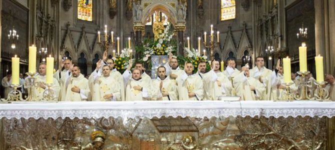 Svećeničko ređenje i zahvalno slavlje za biskupsko služenje mons. Valentina Pozaića