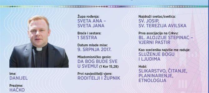Naši mladomisnici: Danijel Hačko