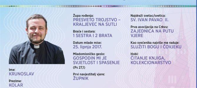 Naši mladomisnici: Krunoslav Kolar