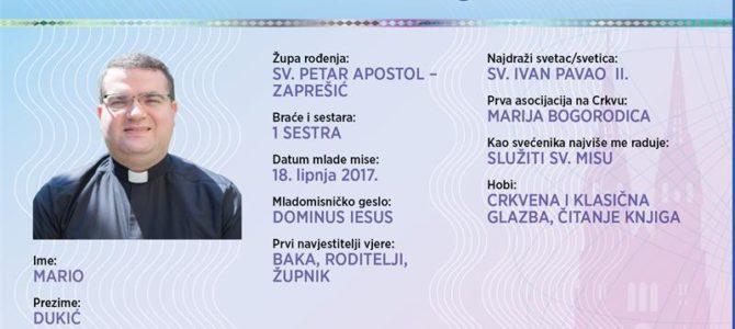 Naši mladomisnici: Mario Dukić