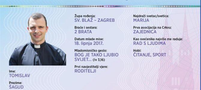 Naši mladomisnici: Tomislav Šagud