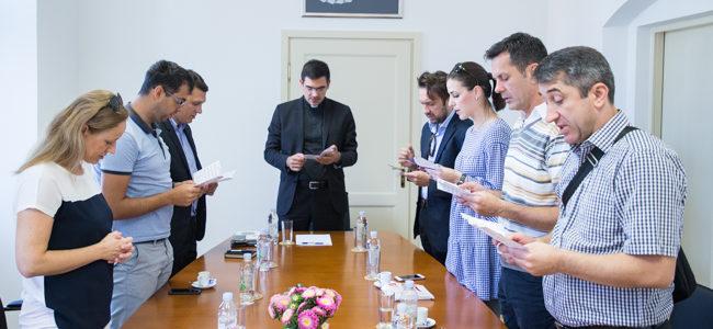 Susret članova Sinode, medijskih djelatnika